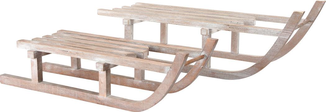 Weihnachtsdeko Deko Schlitten Aus Holz Winter Weihnachten