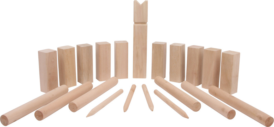 wurfspiel wikingerspiel kubb arthur g nstig bei kasperini online shop f r spielzeug spielwaren. Black Bedroom Furniture Sets. Home Design Ideas
