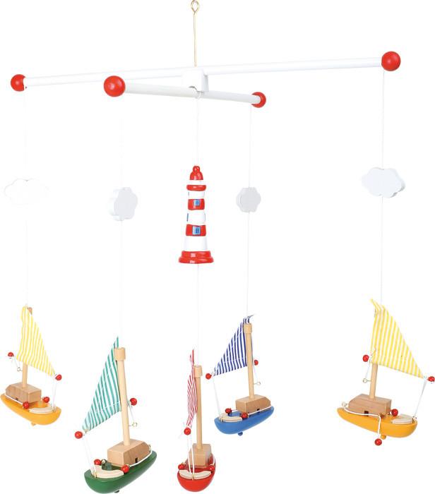 mobile segelboote mit leuchtturm g nstig bei kasperini online shop f r spielzeug spielwaren und. Black Bedroom Furniture Sets. Home Design Ideas