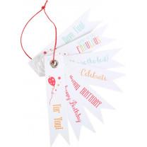 Geschenkartikel Geschenkanhänger Geburtstagssprüche
