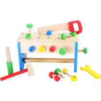 Werkzeugkoffer Werkzeugkasten und Werkbank 2 in 1