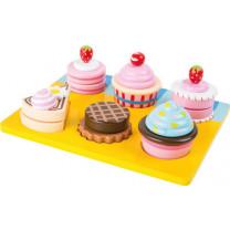 """Kinderküchen-Zubhehör Schneide """"Cupcakes und Torten"""""""