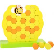 Geschicklichkeitsspiel Wackelturm Bienenstock