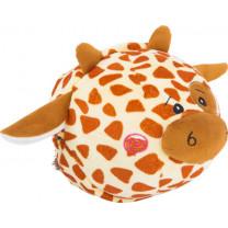 Plüschball Zebra & Giraffe