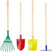 Gartenwerkzeug-Set Kunterbunt