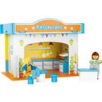 Spielhaus Restaurant mit Zubehör