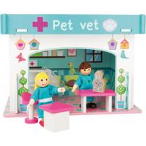 Spielhaus Tierklinik mit Zubehör
