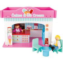Spielhaus Eisdiele mit Zubehör