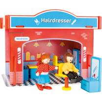 Spielhaus Friseursalon mit Zubehör