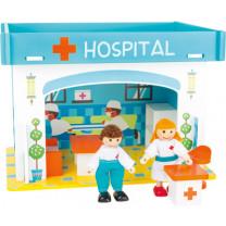 Spielhaus Krankenhaus mit Zubehör