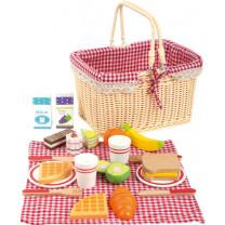 Picknickkorb Frühstück