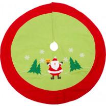 Weihnachtsbaumdecke Santa