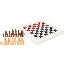 Brettspiel Schach und Dame