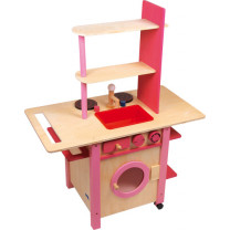 Kinderküche Küche - all in one rosa
