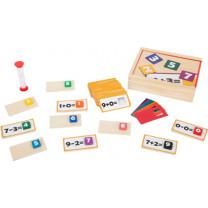 Lernspiel Holzpuzzle Mathematik