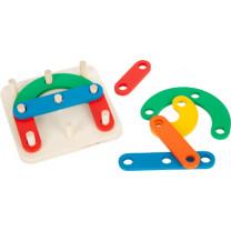 Lernspiel Steckpuzzle Buchstaben und Zahlen