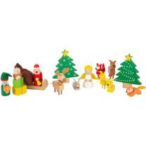 Spielset Waldweihnacht der Tiere