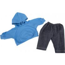 Puppenkleidung Kapuzenpullover und Hose