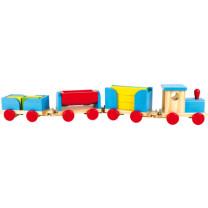 Holzeisenbahn Bauklötze