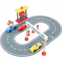 Autorennbahn inkl. Spielset