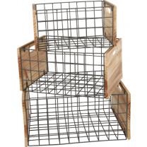 Holzkiste Gitter