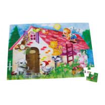 Puzzle Gigant Farmleben, 48 tlg..