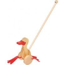 Schiebespielzeug Watschel-Ente