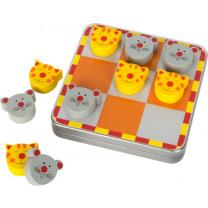 Strategiespiel Magnet Tic Tac Toe Katz und Maus