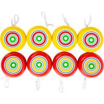 JoJo gelb & rot, 8er Set