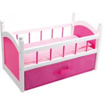 Puppenbett, pink