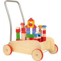 Lauflernwagen Bausteine