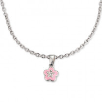 Schmuckset Blumen, rosa