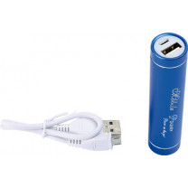 Power bank Externer Akku blau, 2000 mAh