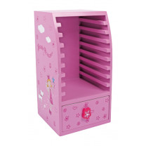Kindermöbel CD Schrank Beauty Princess