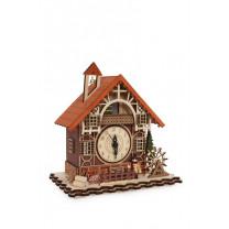 Uhr Fachwerkhaus