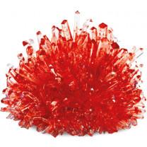 Bastelset Kristalle züchten rot.