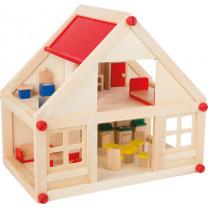 Puppenhaus Wohnhaus, 2 Etagen
