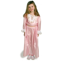 Kostüm Prinzessinnenkleid, rosa.