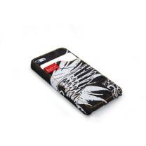 Handyhülle iPhone 5 Schutzhülle Jeans schwarz.